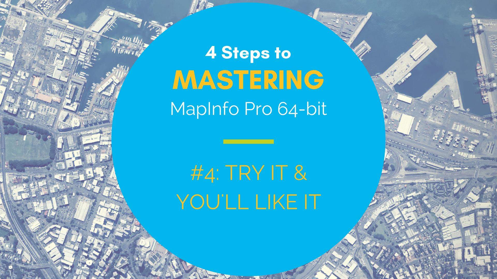 mapinfo pro 64bit